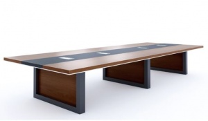 Mẫu bàn họp gỗ MDF - VL 1
